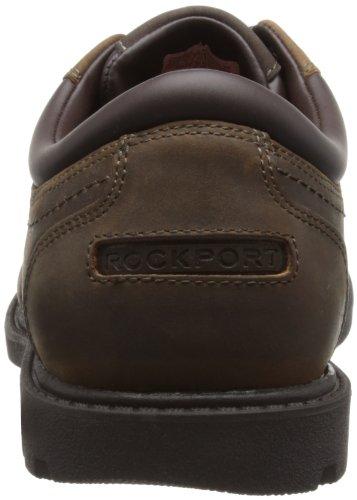 Rockport RGD BUC WP PLAINTOE - Zapatos con cordones de cuero hombre Marrón