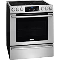 Electrolux EI30EF45QS 30 ADA Compliant Front Control Electric Range with 5 Heating Elements 4.6 cu. ft. Capacity Flex-2-Fit Heating Elements Dual Convection and Temperature Probe i