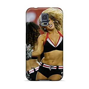 Personality customization Awesome Case Cover Compatible With Galaxy S5 - Atlanta Falcon Cheerleaders At PLUS6A case