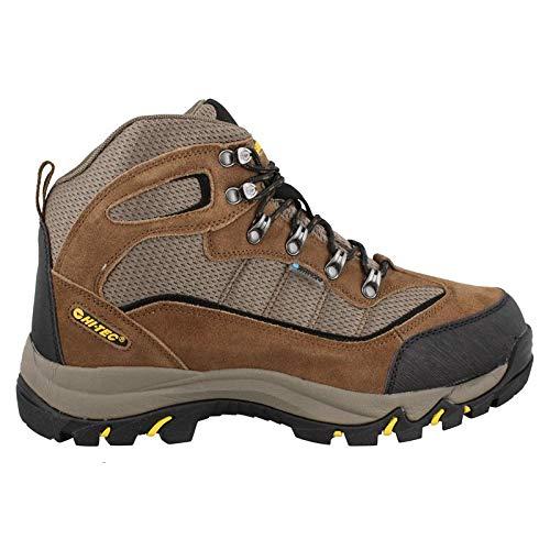 Hi-Tec Men's Skamania Mid Waterproof Hiking Boot, Brown/Gold,11 M US