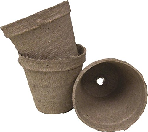"""JIFFY/FERRY MORSE SEED 390406 Jiffypots Round Seed Starters (1404 Pack), 3"""""""