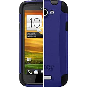 OtterBox Commuter Series for HTC One X - Retail Packaging - Black/Blue (Discontinued by Manufacturer)