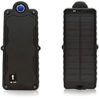KINGNEED GPS/GSM TRACKER   3G & WiFI   NO MONTHLY FEE   180-DAY BATTERY   REAL-TIME TRACKING   GEO-FENCING   WATERPROOF   MAGNETIC w/REMOVAL ALERT+SOLAR SUPPLY(1355530mm)