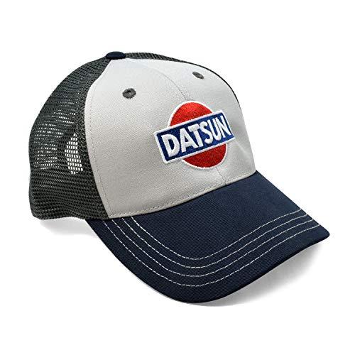 (Nissan Datsun Classic Tri-Tone Mesh Baseball Cap)