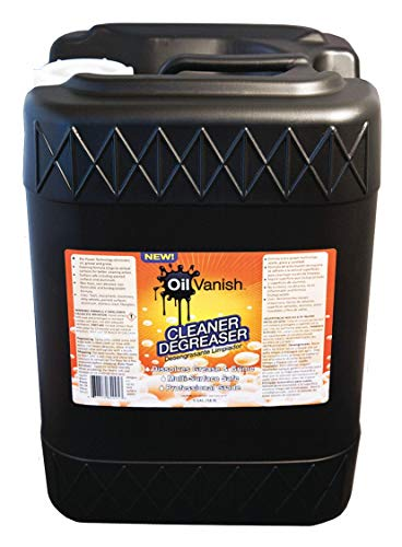 Cleaner/Degreaser, 5 gal. Pail, Unscented Liquid, Ready to Use, 1 EA by OIL VANISH (Image #1)