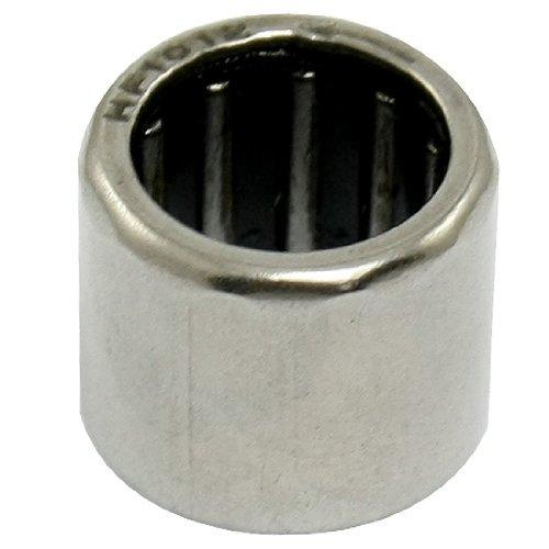 eDealMax HF1012 10mm x 14mm x 12mm de Plata tono de rodamiento de rodillos de aguja
