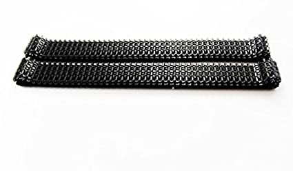 Generic plastic, DIY crawler tank chassis track,robot chain, conveyor  belt/1 package 2pcs x 78cm