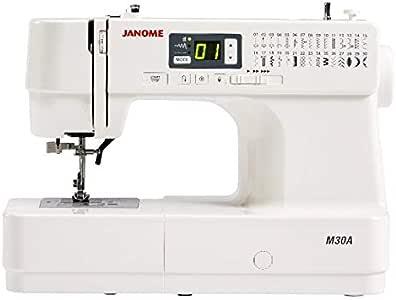 Janome M30A - Máquina de Coser (compacta, Funcional y fácil de ...
