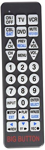 Big Button BW1220 Universal Remote Control