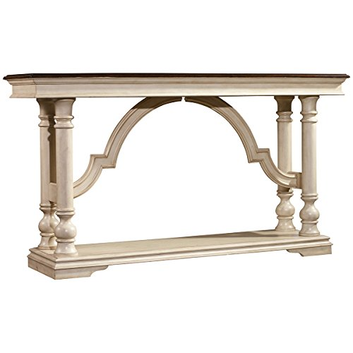 Hooker Furniture Leesburg Console Table in Antique White - Hooker Furniture Console