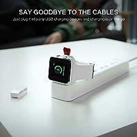 Amazon.com: WAFA Cargador de reloj magnético portátil iWatch ...