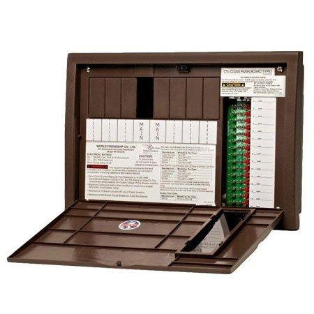 WFCO WF-8930/WF-8950 ULTRA Distribution Panel, 30/50 AMP (Power Panel Distribution)