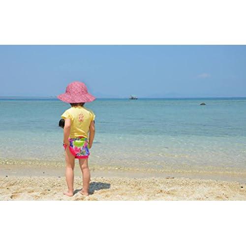 e8a501b176436 ThunderCloud Children s 50+ SPF UV Protective Wide Brim Bucket Sun ...