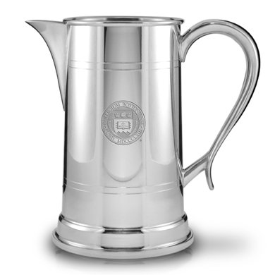 Boston College Pewter Pitcher by M. LaHart (Image #1)
