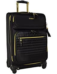 Steve Madden Luggage 24 Expandable Softside Suitcase With Spinner Wheels
