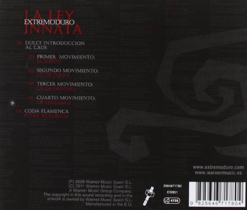 Extremoduro La Ley Innata Version 2011 Music