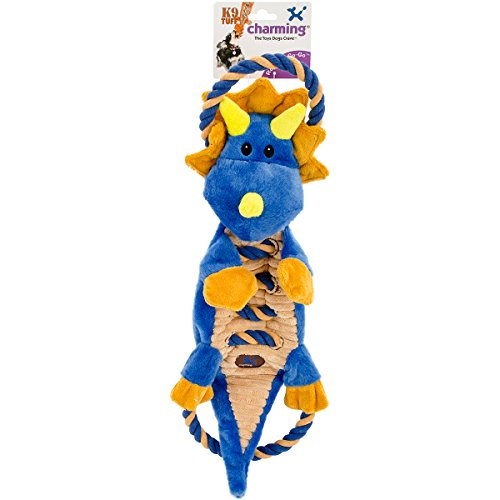 Charming 61127 Ropes-A-Go Go-Dragon Squeak Toys