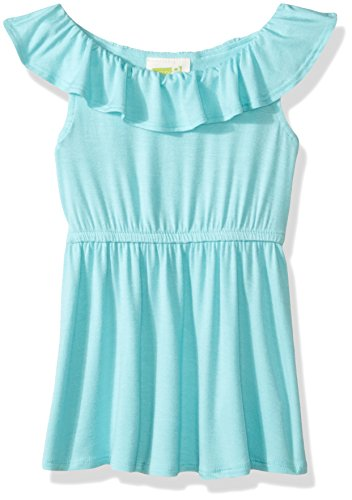 Crazy 8 Baby Toddler Girls' Knt Wrap Dress, Aqua Splash, 6-12 - Baby Aqua Splash