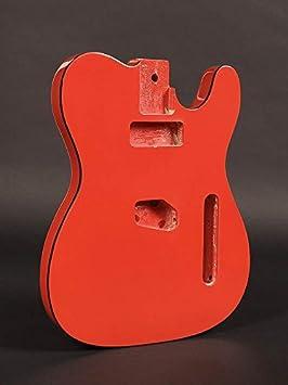 Body cuerpo Guitarra Tipo Fender Telecaster Red Rojo teb-40-frd: Amazon.es: Instrumentos musicales
