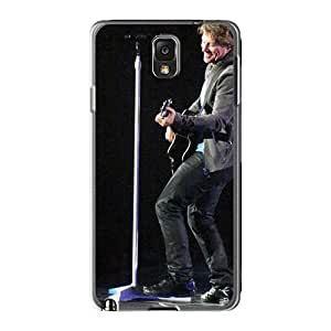 Great Hard Phone Cover For Samsung Galaxy Note3 With Unique Design Beautiful Bon Jovi Series PhilHolmes