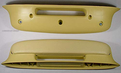 2 Yellow Arm Rests for 1957 57 Chevy Bel Air