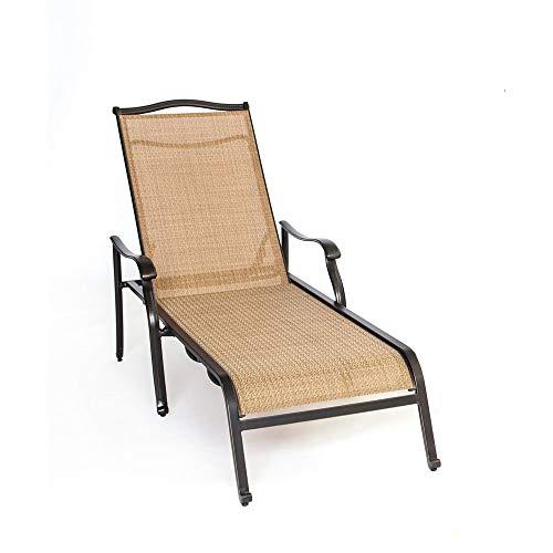 Envelor Hanover Monaco Outdoor Patio Furniture Chaise ()