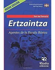 Ertzaintza.  Agentes de la Escala Básica.  Test del Temario