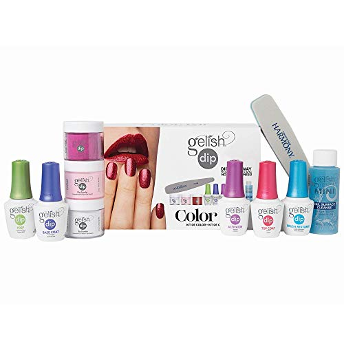 Hand & Nail Harmony Gelish Acrylic Powder Color Dip Nail Kit