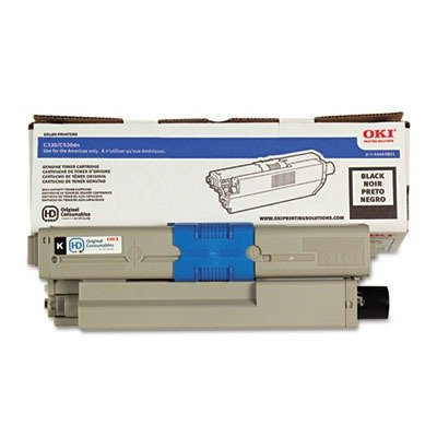 Okidata Brand C330dn - 1-Standard Yield Black Toner (Office Supply / Toner)