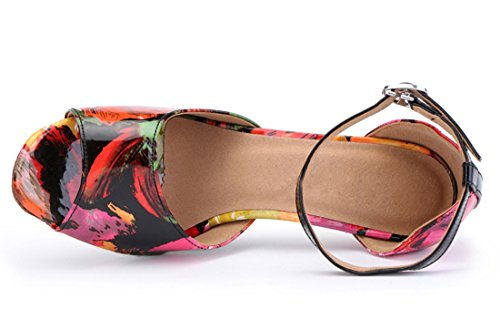 MGM Joymod EU Jazz 5cm Heel Donna 8 Pink 35 e Red Moderno qfqP1Bxr