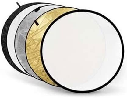 "DMC-G1 Black Polaroid Pro Studio 42/"" 5-In-1 Collapsible Circular Reflector Disc Gold Silver White /& Translucent Includes Deluxe Carrying Case For The Panasonic Lumix DMC-G3 DMC-L10 DMC-GH2 DMC-GF3 DMC-GH3 DMC-GH1 DMC-GF2, DMC-GF1 DMC-GH4"