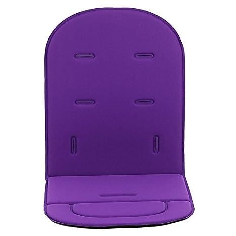 Colchoneta Silla Bebe,Hoyoo,Funda acolchada para asiento de carrito de bebé o asiento
