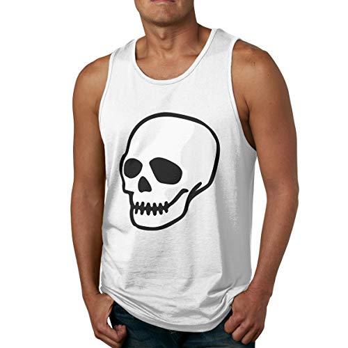 Men's Tank Tops Gym Vests Shirt Sugar Skull