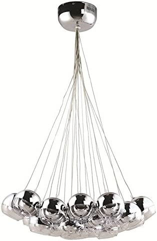Fine Mod Imports Home Indoor Livingroom Cup Hanging Chandelier Silver by Fine Mod Imports
