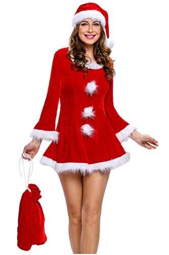 Women (Naughty Santa Girl Costume)