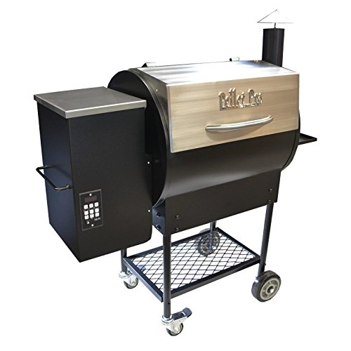 Pellet Pro Deluxe Stainless 770 Pellet Grill - With a 35# Capacity Hopper & FREE 100# BBQ Pellets