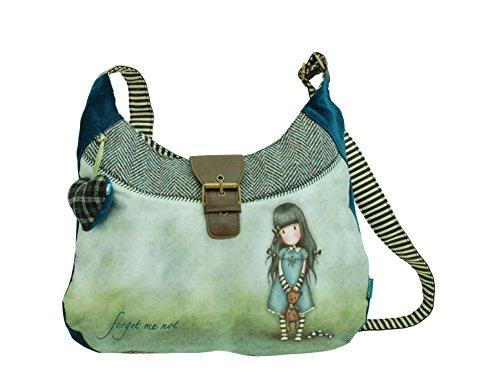 Santoro London Gorjuss Slouchy Bag Forget Me Not Handbag ...