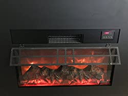 "Y-Decor IN3000 True Flame Electric Fireplace Insert Y-Décor 30"" with Front Surround from Y-Décor"