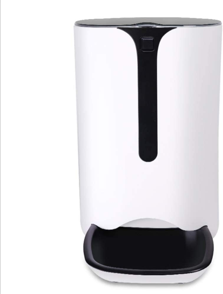 BinetGo 7L Automatic Cat Feeder with Timer Schedule Feature Cat Food Dispenser with Portion Control and Voice Recorder for Healthy Feeding 4 Meals a Day (7L, White)