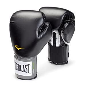 Well-Being-Matters 412Exd9gKWL._SS300_ Everlast Pro Style Training Gloves (Black, 14 oz.)