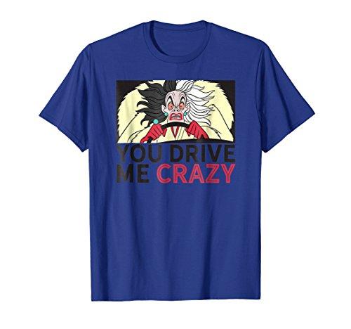 Disney Cruella De Vil Drive me crazy T-shirt -
