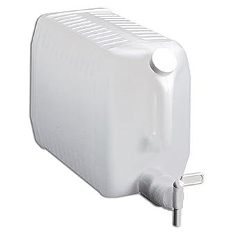 Tolco - Dispensador de plástico con espiga, HDPE, color natural, de 9,5 l: Amazon.es: Amazon.es