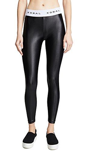 - Koral Activewear Women's Aden Leggings, Black/White, X-Small