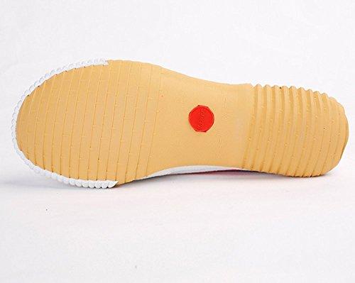 Feiyue Zapatillas de Atletismo de Lona Para Mujer blanco
