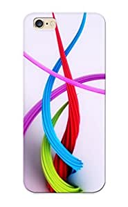 Catenaryoi FmAuSff2091gIRHb Case Cover Iphone 6 Plus Protective Case Happy Colored Strands ( Best Gift For Friends)