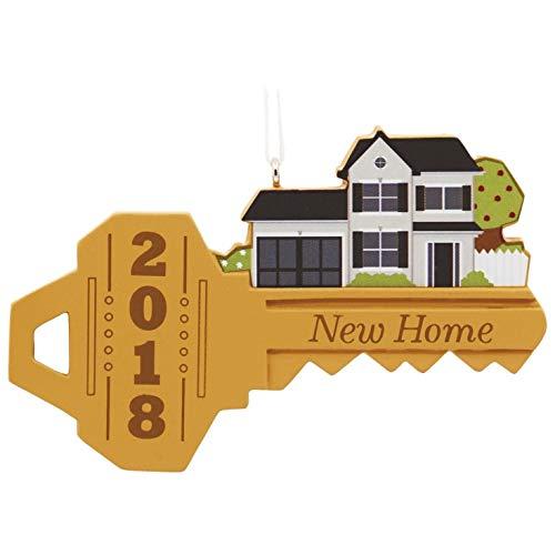 Hallmark 2018 Year Dated Christmas Ornament New Home Key