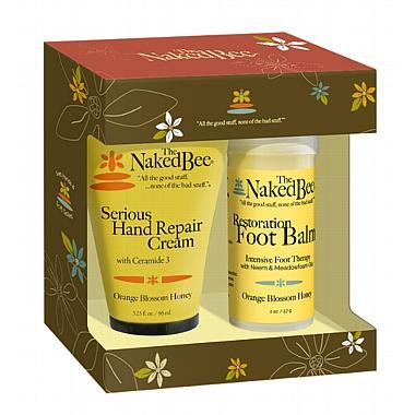 Naked Bee Serious Restoration For Hands & Feet Gift Set, ...