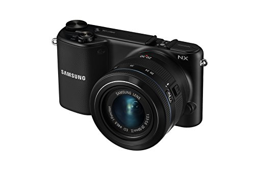 "Samsung Nx2000 20.3mp Cmos Smart Wifi Mirrorless Digital Camera With 20-50mm Lens & 3.7"" Touch Screen Lcd (Black) (Old Model)"