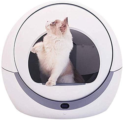 QWER Cajas de arena para gatos autolimpiable animal doméstico del ...