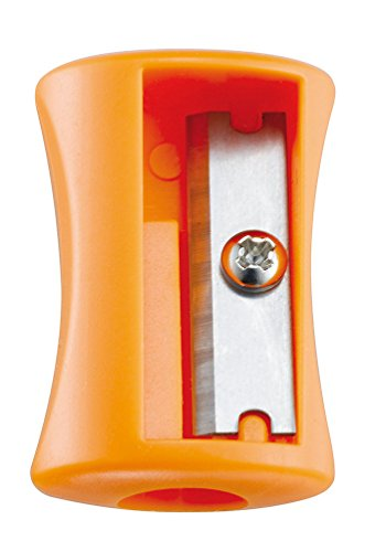 Maped 1 Hole Vivo Pencil Sharpener - Assorted Colours (Box of 75) 506300 by Helix